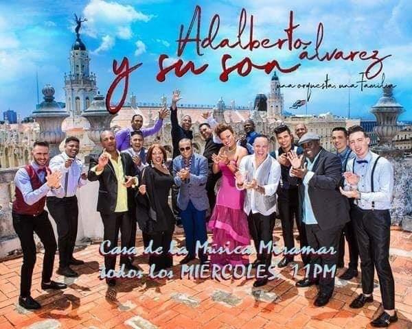 LA  NOCHE DEL CABALLERO, Orquesta Adalberto Álvarez y su Son