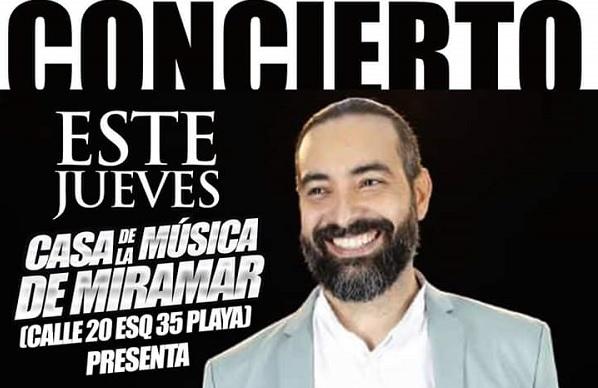 Conciertos de ALAIN PÉREZ Y SU ORQUESTA en la Matinée de Casa de la Música de Miramar