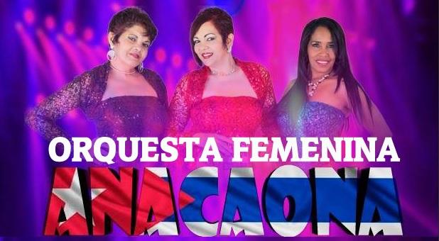 Anacaona,  la orquesta femenina de Cuba en el FESTIVAL DE LA SALSA