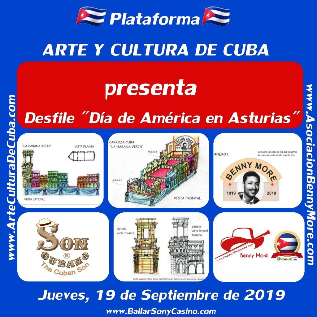 Desfile por el Día de América en Asturias 2019